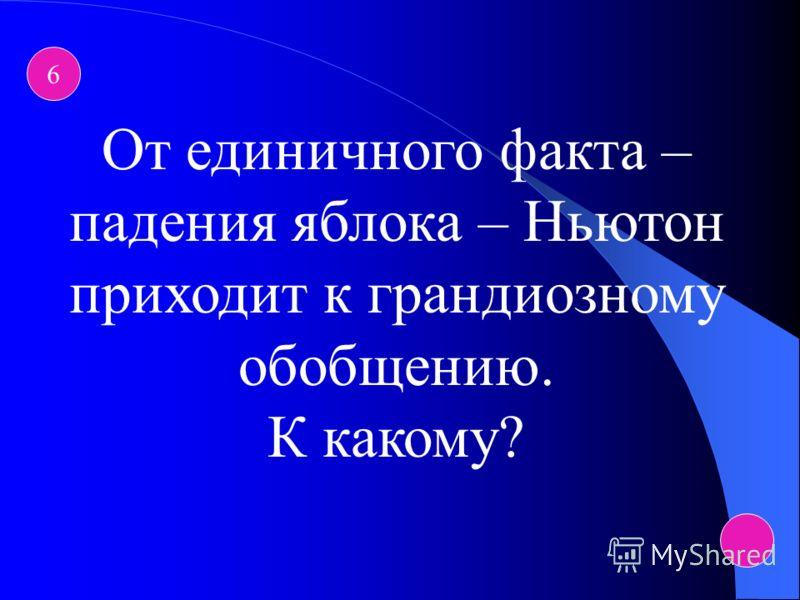 5 Ещё в 1744-1745 гг. Ломоносов в своих «Размышлениях о причине теплоты и холода» с полной ясностью высказал утверждение о том, что тепловая энергия обусловлена … чем?