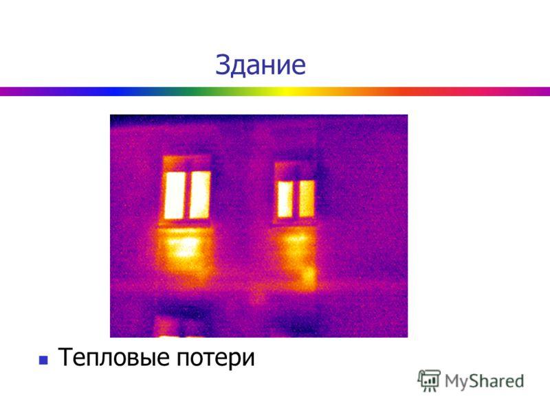 Здание Тепловые потери