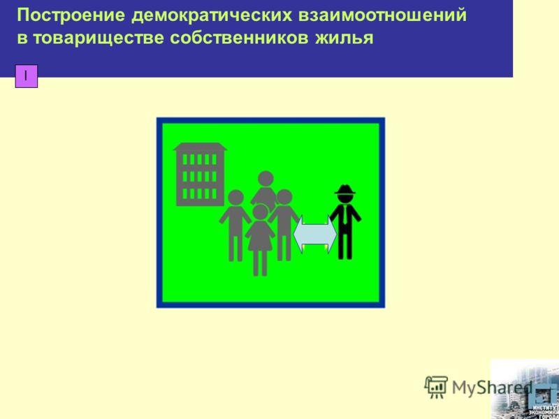 Построение демократических взаимоотношений в товариществе собственников жилья I
