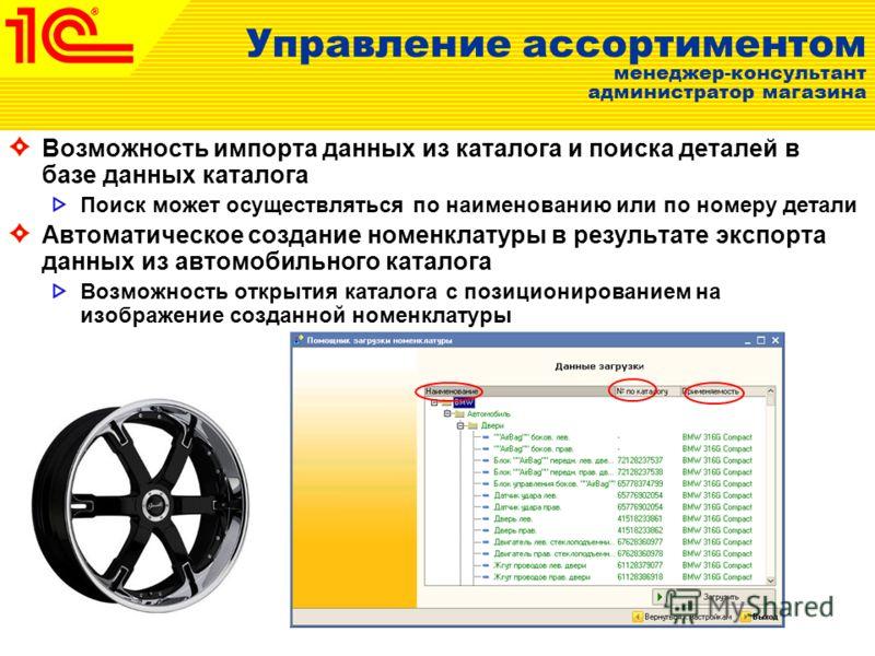 Номенклатура Дополнительные аналитические свойства для шин Ширина Профиль Посадочный диаметр Индексы нагрузки и скорости Дополнительные аналитические свойства для дисков Вылет Ширина Диаметр диска Посадочные размер и диаметр