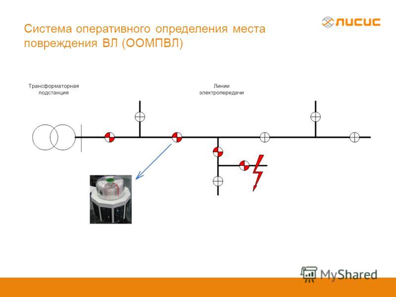 Система оперативного определения места повреждения ВЛ (ООМПВЛ)