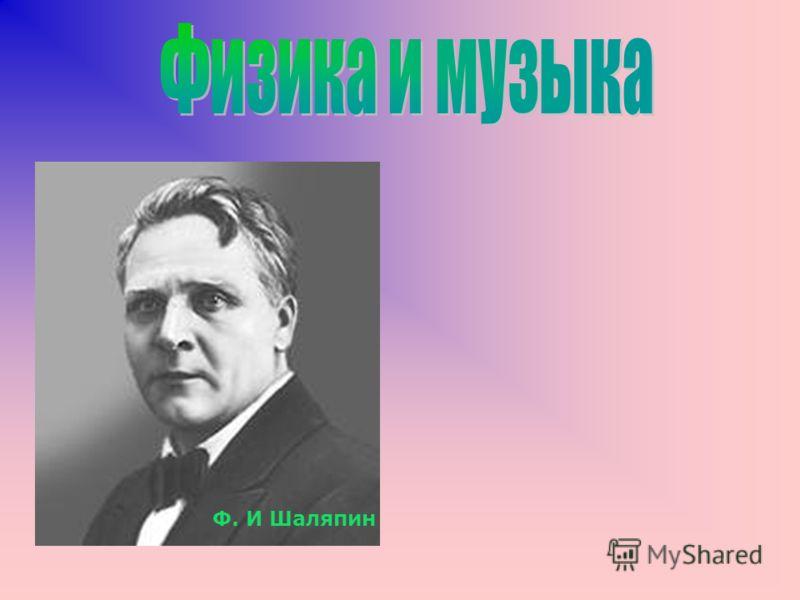 Ф. И Шаляпин