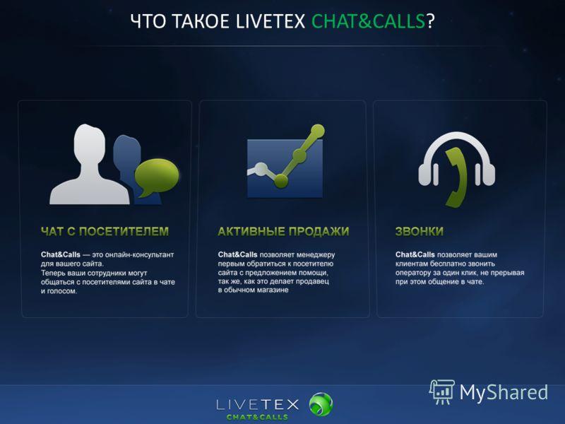 ЧТО ТАКОЕ LIVETEX CHAT&CALLS?