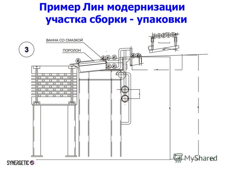 Пример Лин модернизации участка сборки - упаковки 11