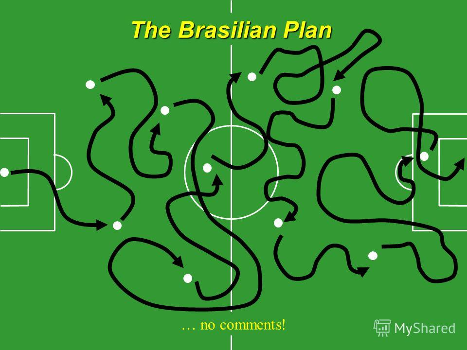 The Brasilian Plan … no comments!