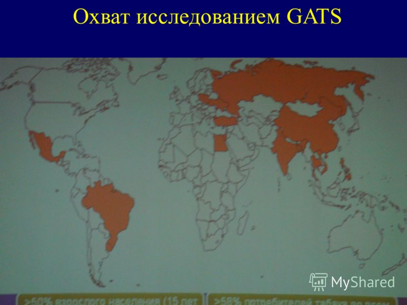 Охват исследованием GATS