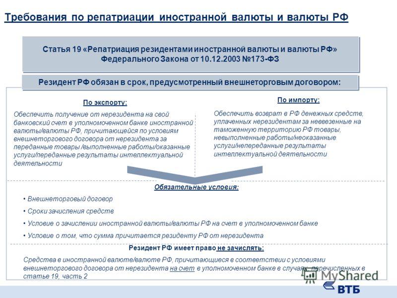 Операции регулируемые ЦБ РФ Операции, регулируемые ЦБ РФ регулируемые Валютные операции между резидентами и нерезидентами Статья 6. Валютные операции между резидентами и нерезидентами осуществляются без ограничений, за исключением валютных операций,