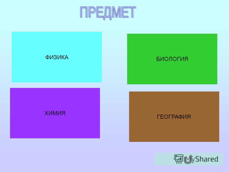 ФИЗИКА ХИМИЯ БИОЛОГИЯ ГЕОГРАФИЯ