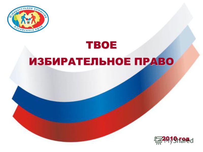 Твое избирательное право 2010 год