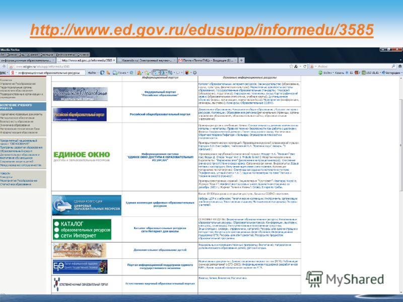 http://www.ed.gov.ru/edusupp/informedu/3585