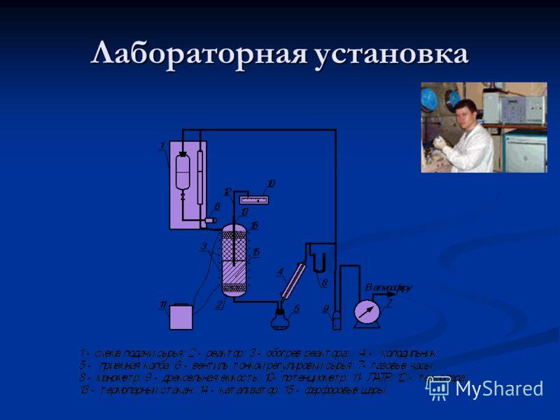 Лабораторная установка