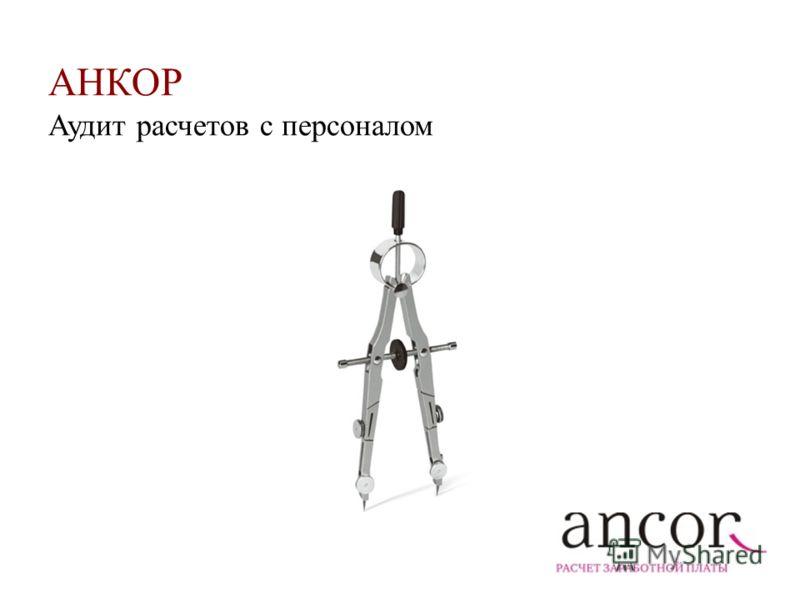 АНКОР Аудит расчетов с персоналом