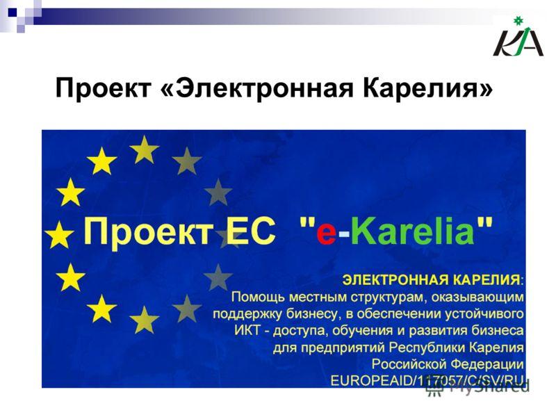 Проект «Электронная Карелия»