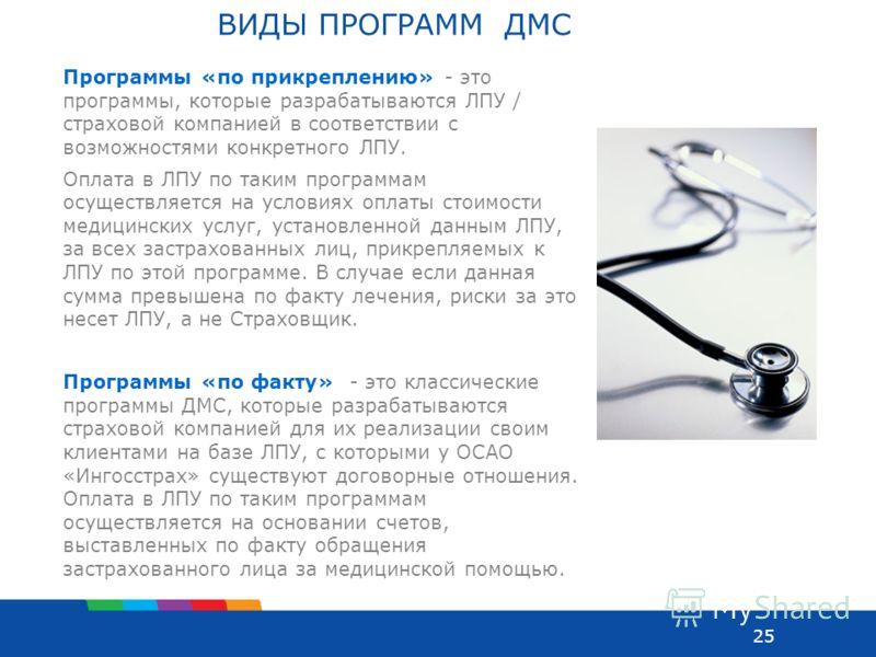 Программы ДМС
