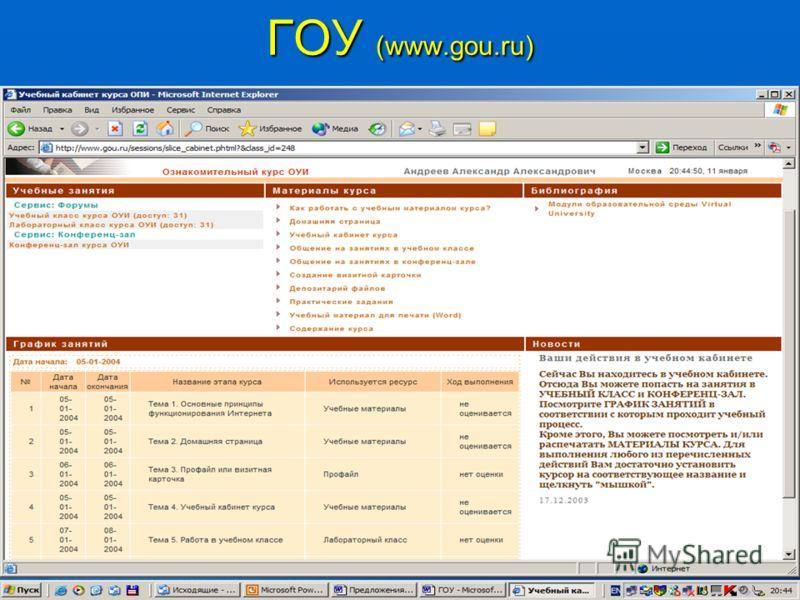 ГОУ (www.gou.ru)