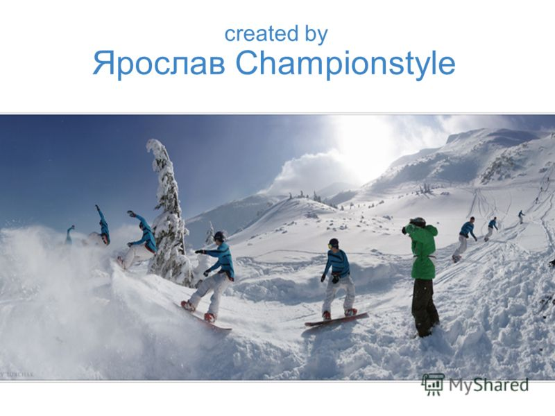 Ярослав Championstyle created by