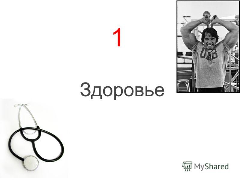 1 Здоровье