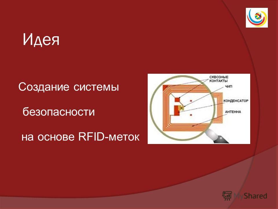 Идея Создание системы безопасности на основе RFID-меток