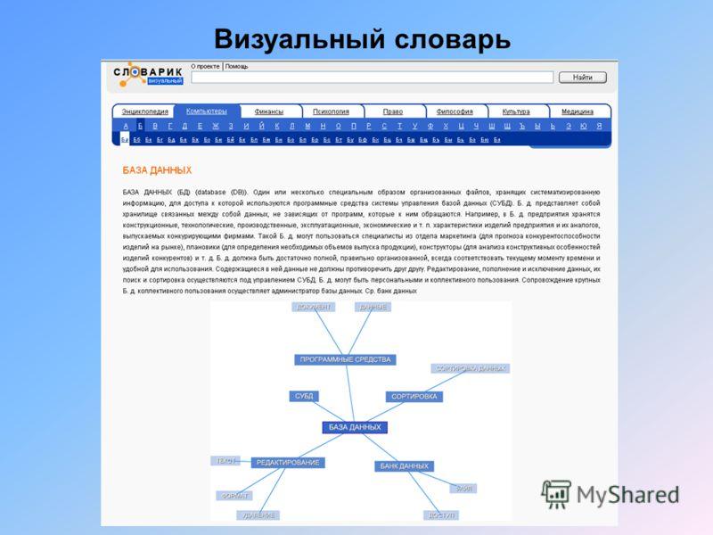 Визуальный словарь