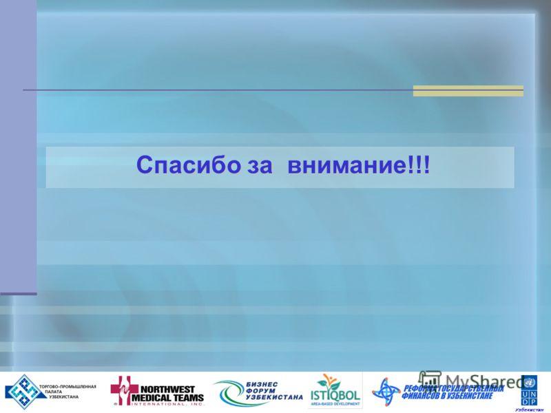 19 Спасибо за внимание!!! Спасибо за внимание!!! Узбекистан