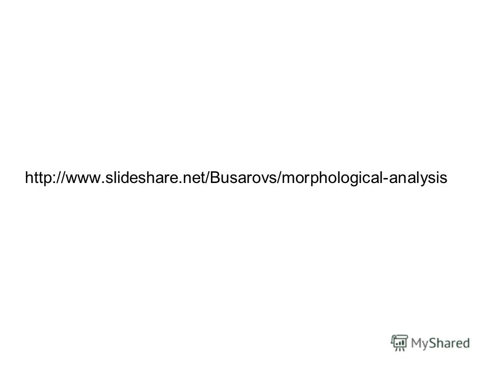 http://www.slideshare.net/Busarovs/morphological-analysis
