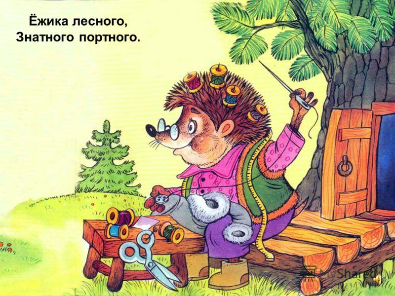Зайка по лесу скакал, Зайка Ёжика искал,