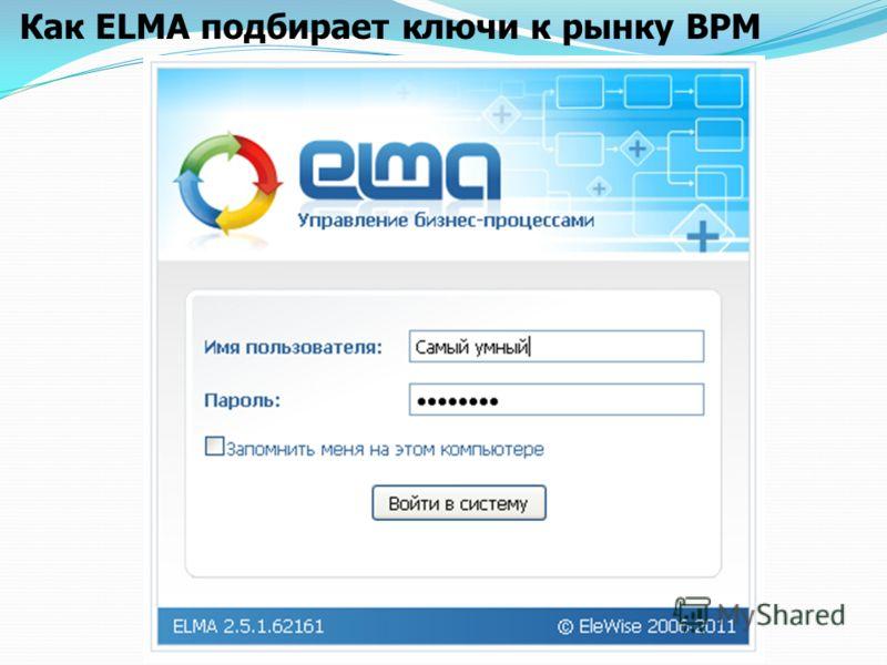 Как ELMA подбирает ключи к рынку BPM