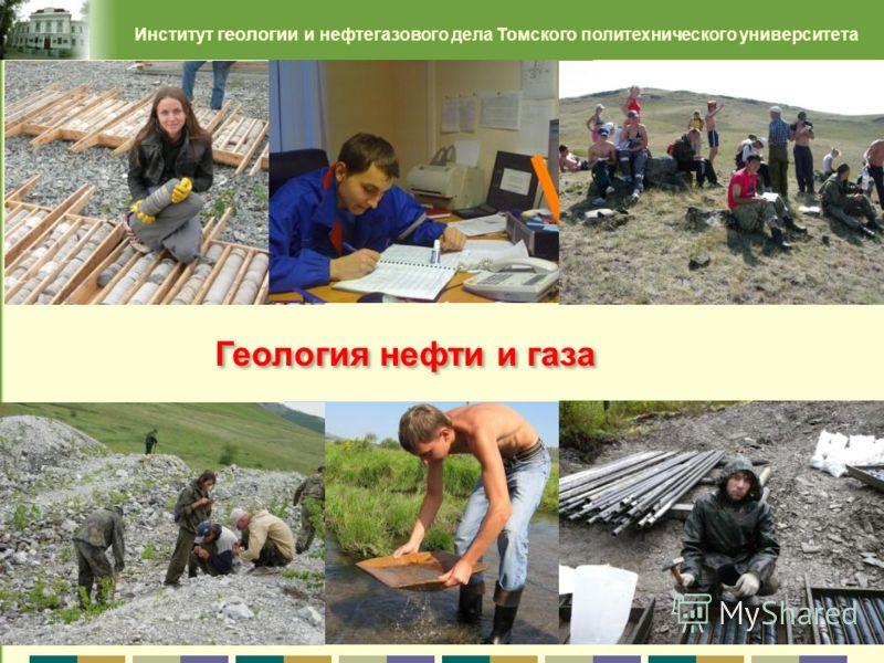 19 Институт геологии и нефтегазового дела Томского политехнического университета Геология нефти и газа