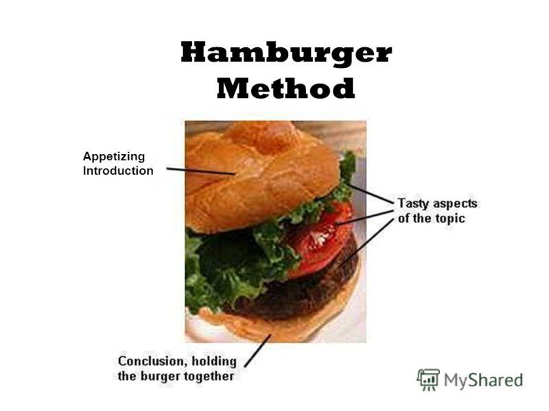 Hamburger Method Appetizing Introduction
