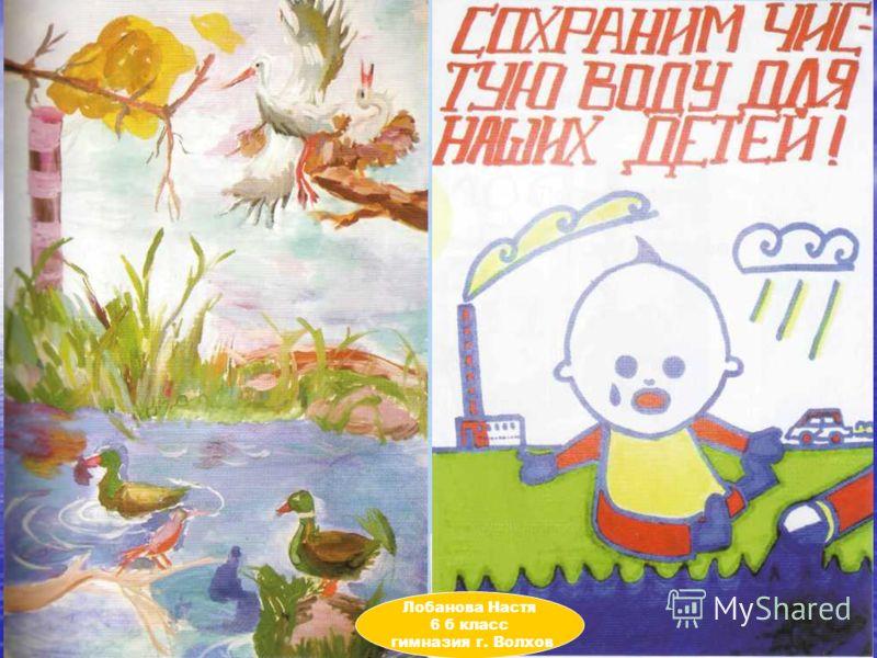 май 200544 Лобанова Настя 6 б класс гимназия г. Волхов