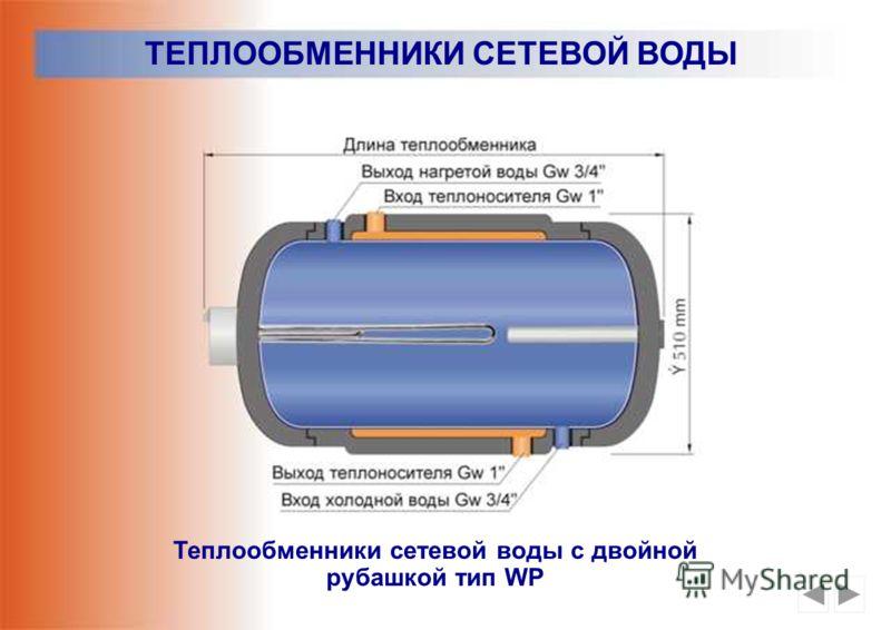 Теплообменники сетевой воды Тип WZ, WW и WB