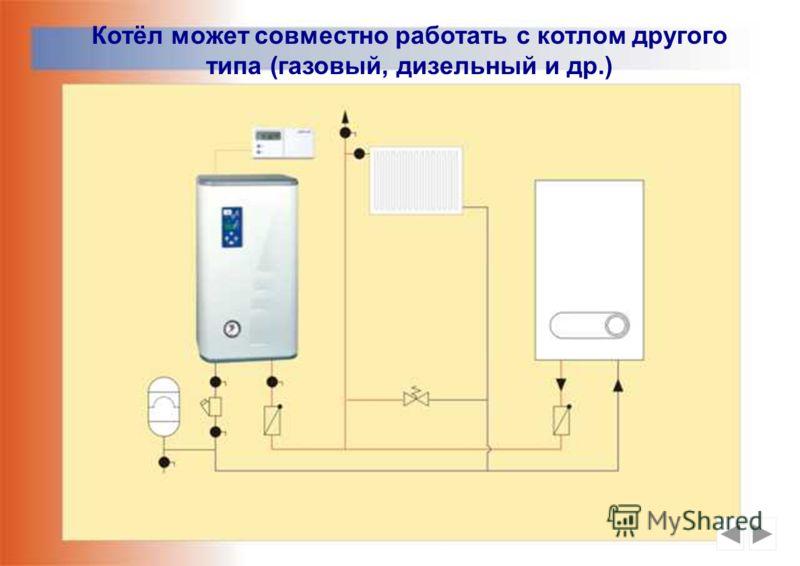 Совместная работа котла с электрическим проточным водонагревателем