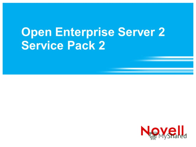 Open Enterprise Server 2 Service Pack 2