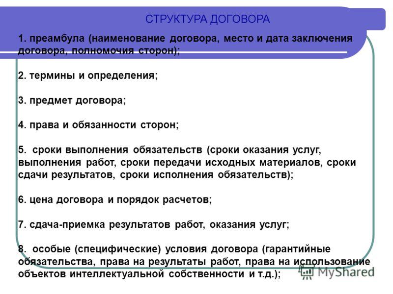 Президента Дата заключения договора сел