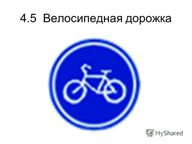 4.5 Велосипедная дорожка