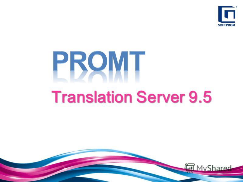 Translation Server 9.5