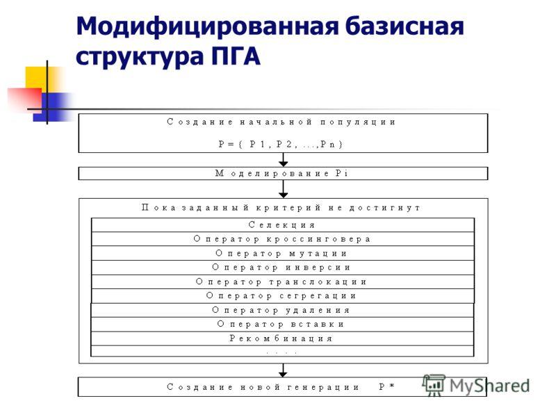 Модифицированная базисная структура ПГА