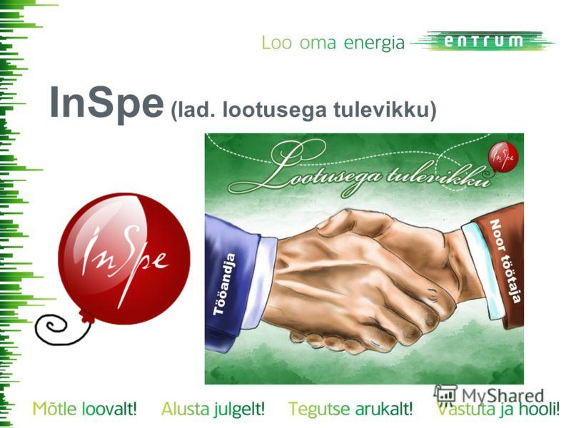 InSpe (lad. lootusega tulevikku)
