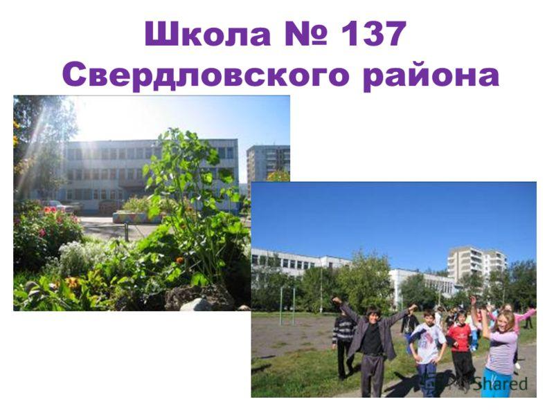 Школа 137 Свердловского района