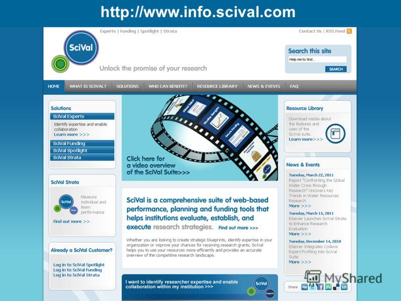 http://www.info.scival.com