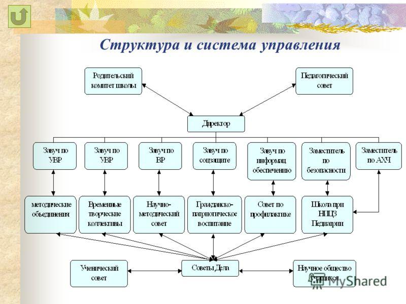 Структура и система управления