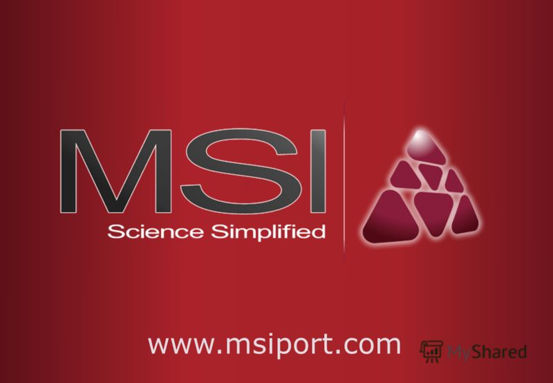 Thank you for your attention www.msiport.com
