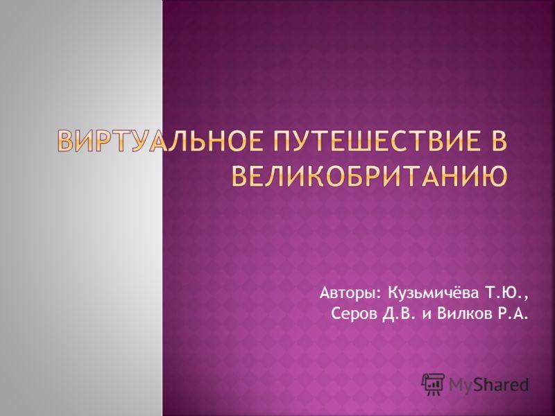 Авторы: Кузьмичёва Т.Ю., Серов Д.В. и Вилков Р.А.