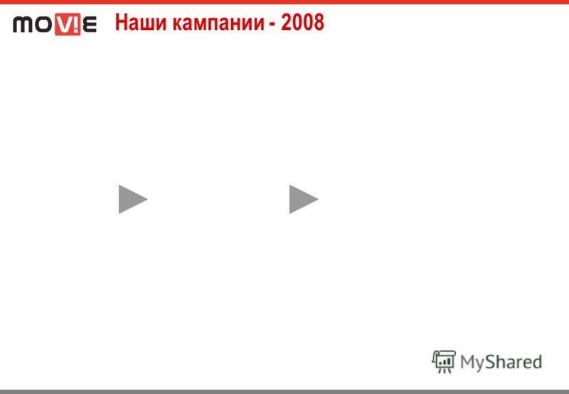 Наши кампании - 2008