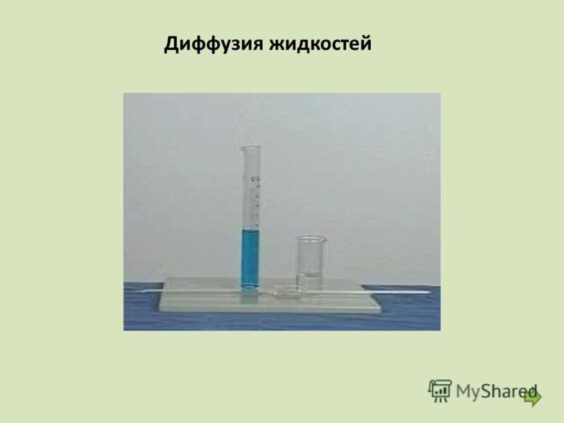 Диффузия жидкостей