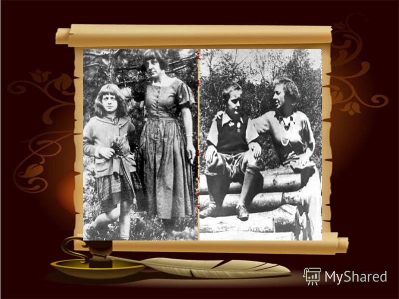 15 мая 1922 Марина Ивановна и Аля приехали в Берлин. Цветаева с дочерью приехала к мужу в Прагу 1 августа 1922. 1 февраля 1925 у них родился долгожданный сын, названный Георгием (домашнее имя Мур). Цветаева его обожала. Стремление сделать всё возможн