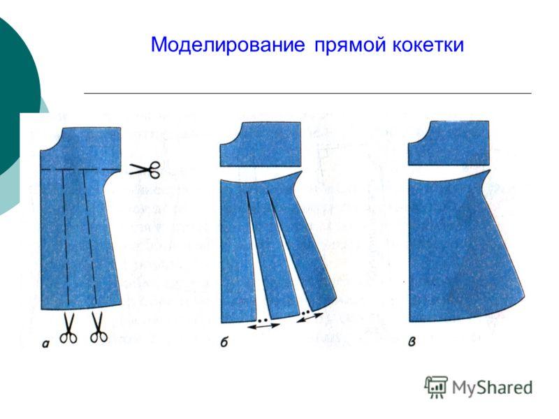 Моделирование прямой кокетки