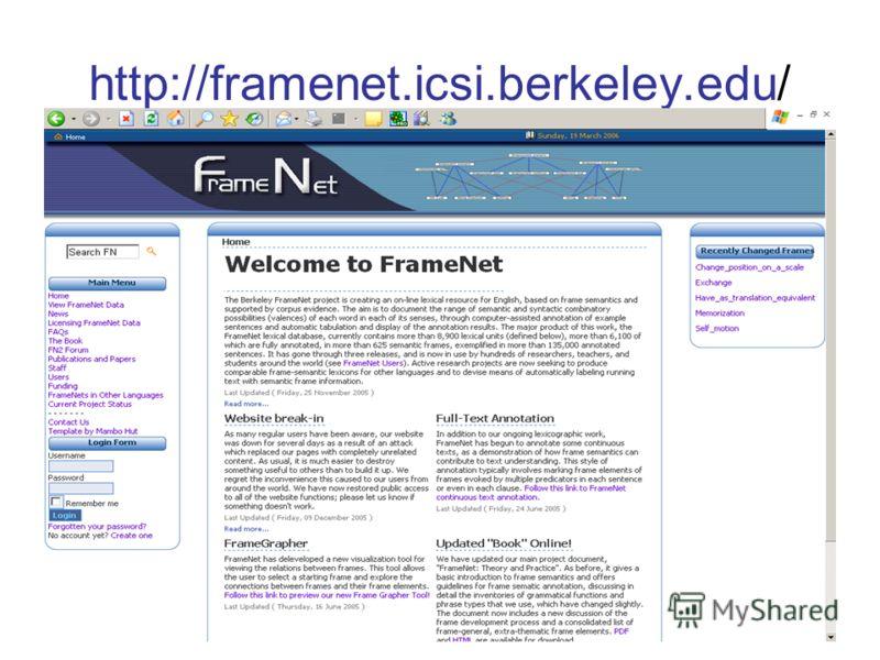 http://framenet.icsi.berkeley.edu/