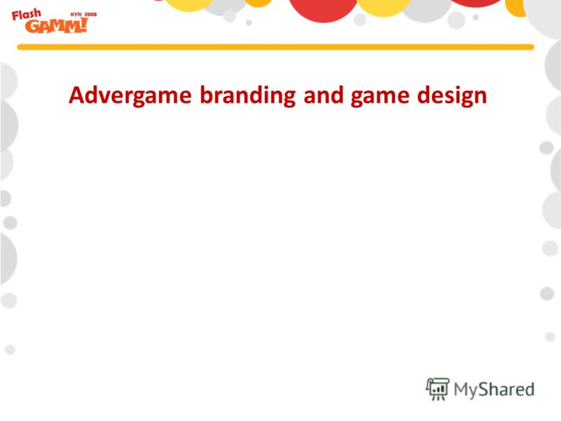 Advergame branding and game design