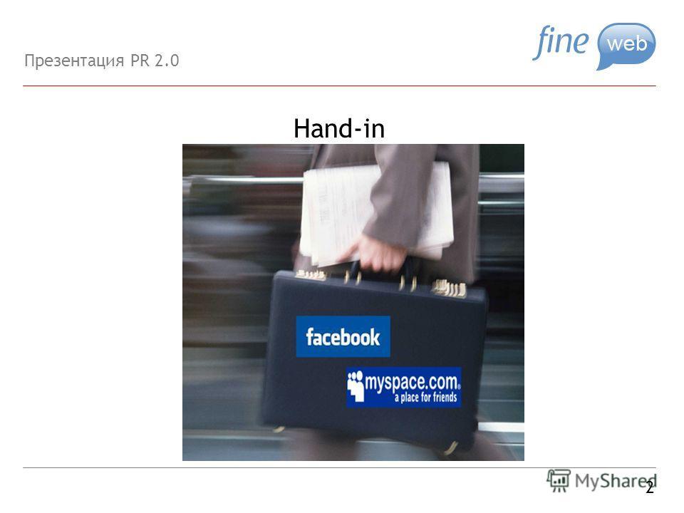 Hand-in 2 Презентация PR 2.0